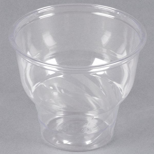 12 oz. Clear PET Sundae Cup - 1000/Case