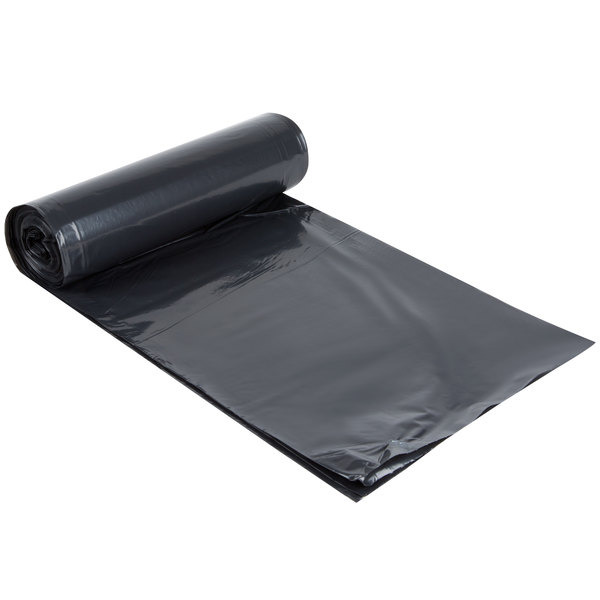 AEP 404640G 45 Gallon 1.6 Mil 40 inch x 46 inch Low Density Can Liner / Trash Bag - 100 / Case