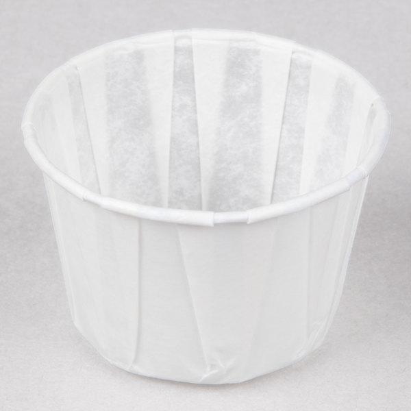 Genpak F200 2 oz. Harvest Paper Souffle / Portion Cup - 250/Pack