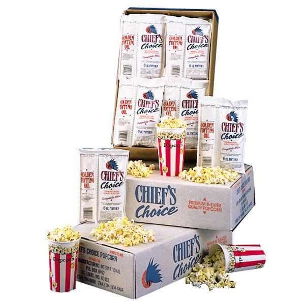 4 oz. Star Chief's Choice CC36-4OZ All-in-One Popcorn Kit - 36/Case