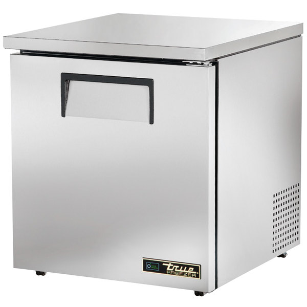 True TUC-27F-LP-HC 27 inch Low Profile Undercounter Freezer