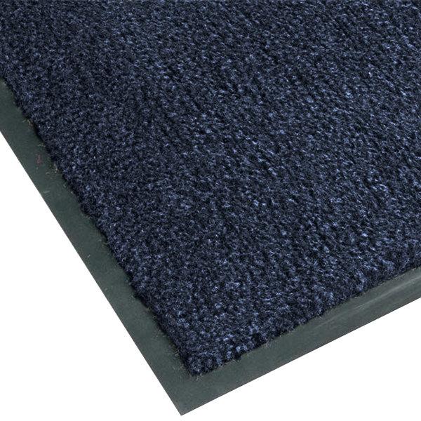 Teknor Apex NoTrax T37 Atlantic Olefin 4468-174 2' x 3' Slate Blue Carpet Entrance Floor Mat - 3/8 inch Thick
