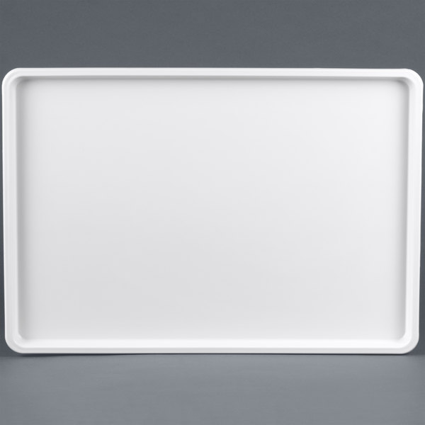Winholt WHP-1826WABS White Polystyrene Display Tray - 18 inch x 26 inch