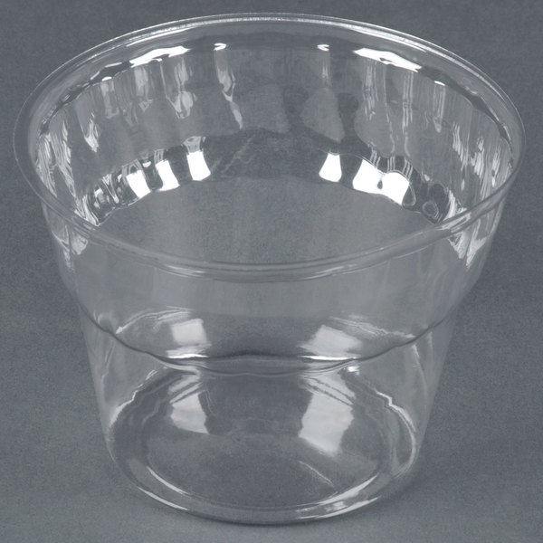 WNA Comet CDSPET8 8 oz. Classic Dessert Specialty Container / Sundae Cup 50 / Pack