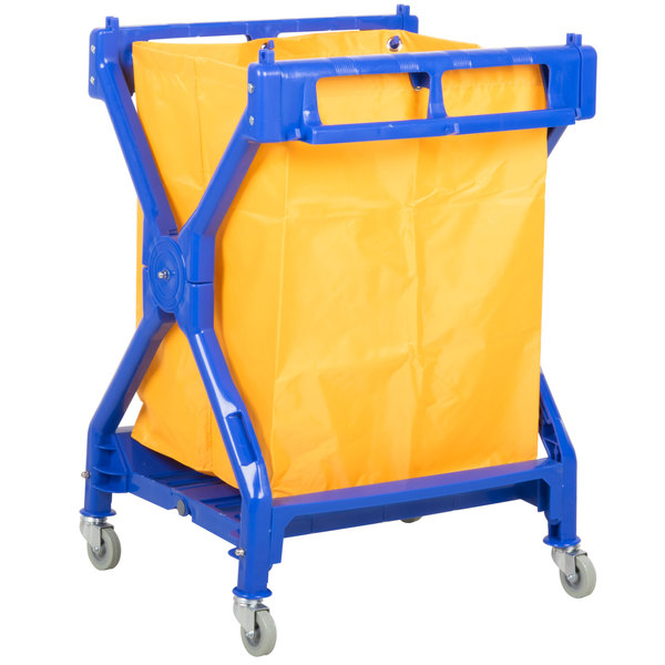 Luxor / H. Wilson HL13 Folding Laundry Cart