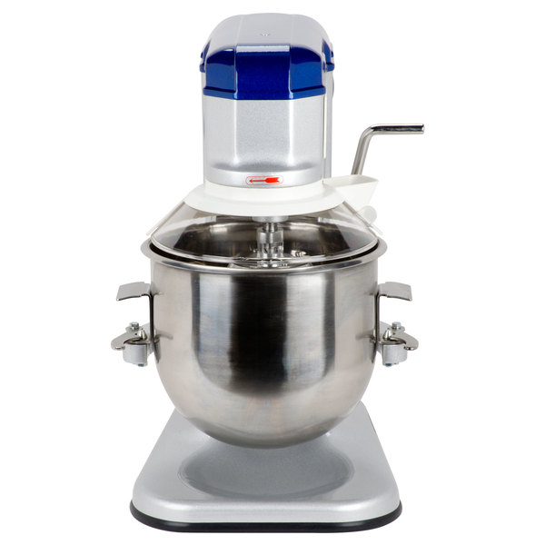 Vollrath 40756 10 Qt. Commercial Planetary Stand Mixer with Guard - 1/3 hp