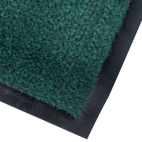 Cactus Mat 1437R-G4 Catalina Standard-Duty 4' x 60' Green Olefin Carpet Entrance Floor Mat Roll - 5/16 inch Thick