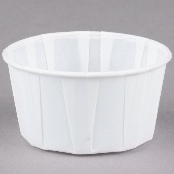 Dart Solo SCC400 4 oz. White Paper Souffle / Portion Cup - 5000/Case
