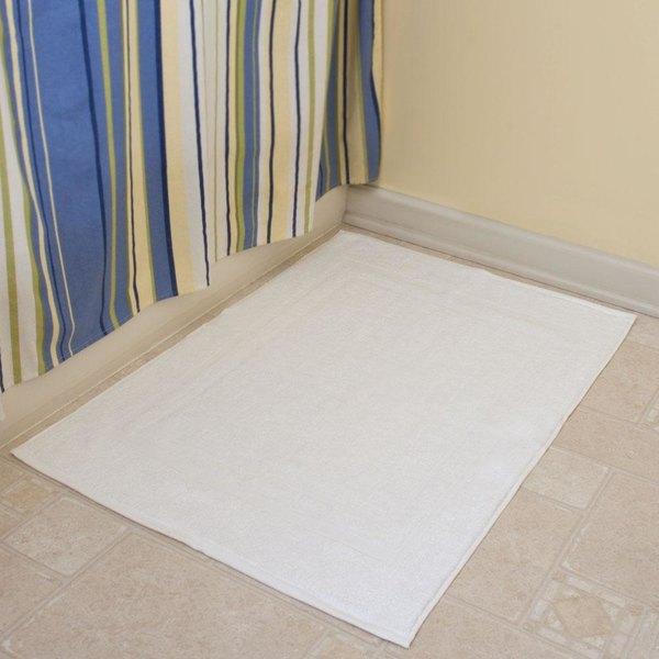 Hotel Bath Mat - Welington 22 inch x 34 inch 100% Ring Spun Combed Cotton 10 lb. - 60/Case