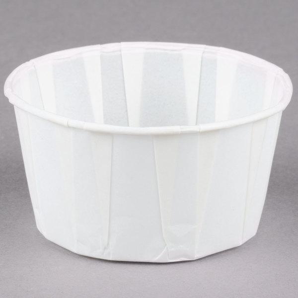 Dart Solo SCC550 5.5 oz. Paper Souffle / Portion Cup 5000/Case
