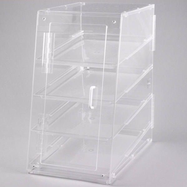 Cal-Mil 1012-S Four Tier U-Build Classic Pastry Display Case - 13 1/2 inch x 21 inch x 24 1/2 inch