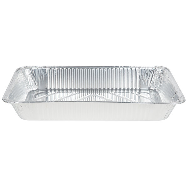 Choice Full Size Foil Steam Table Pan - 50/Case