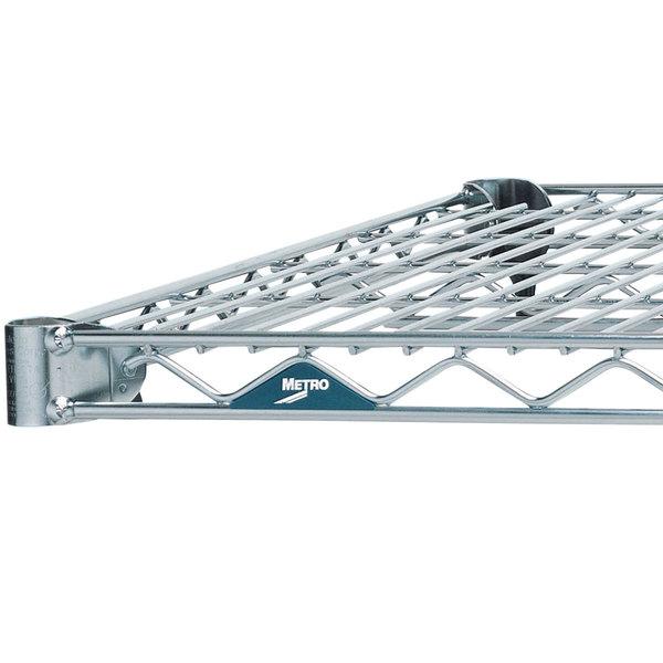 Metro 1442BR Super Erecta Brite Wire Shelf - 14 inch x 42 inch