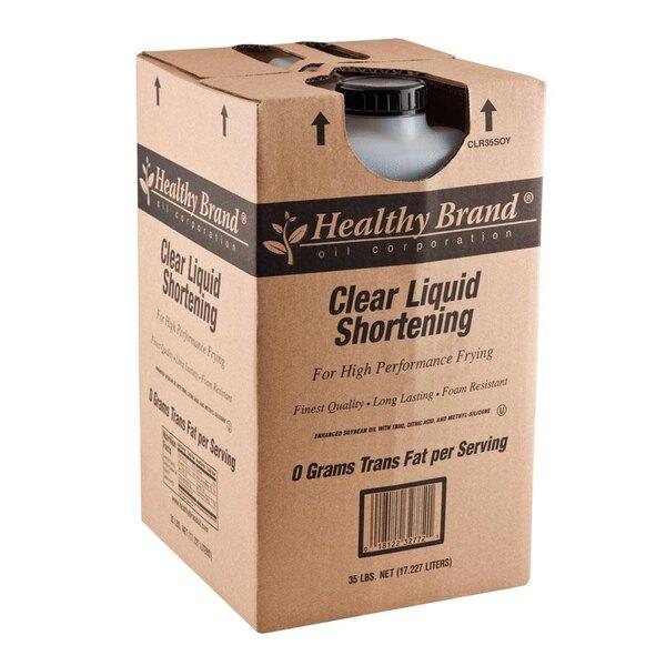 Clear Liquid Shortening - 35 lb.