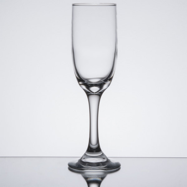 Libbey 3795 Embassy 6 oz. Flute Glass - 12 / Case