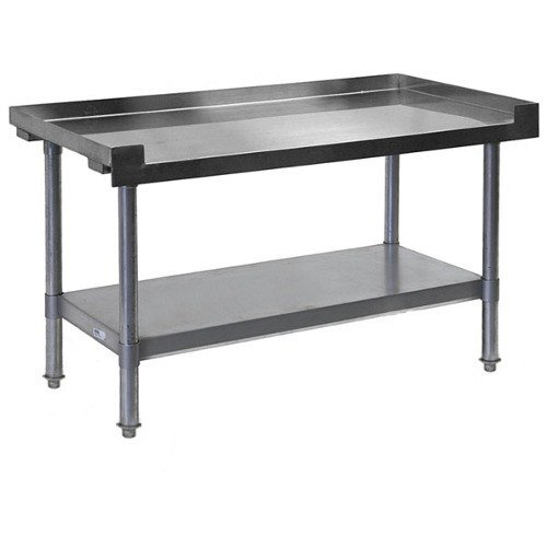 APW Wyott HDS-36L 36 inch x 30 inch Heavy Duty Cookline Equipment Stand with Galvanized Undershelf