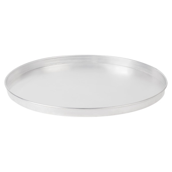 American Metalcraft A4016 16 inch x 1 inch Standard Weight Aluminum Straight Sided Pizza Pan