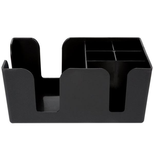 Black Plastic Bar Caddy