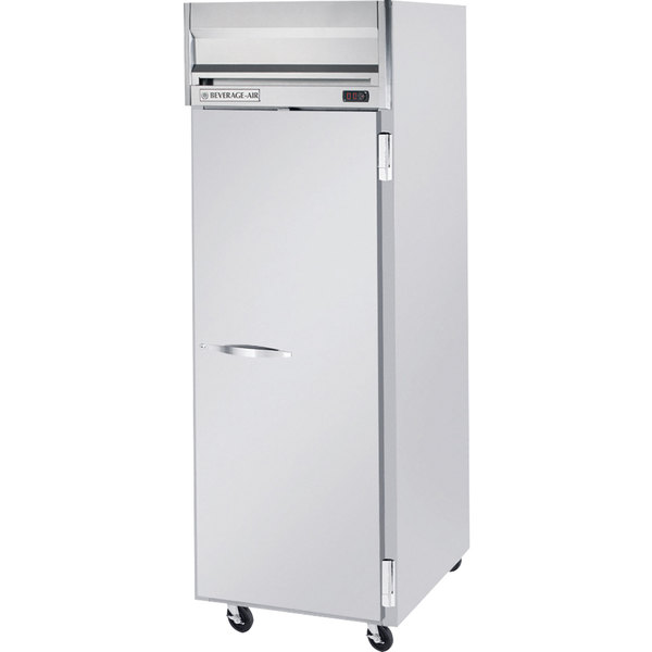 Beverage Air HR1-1S 26 inch Horizon Series One Section Solid Door Reach-In Refrigerator - 24 cu. ft.