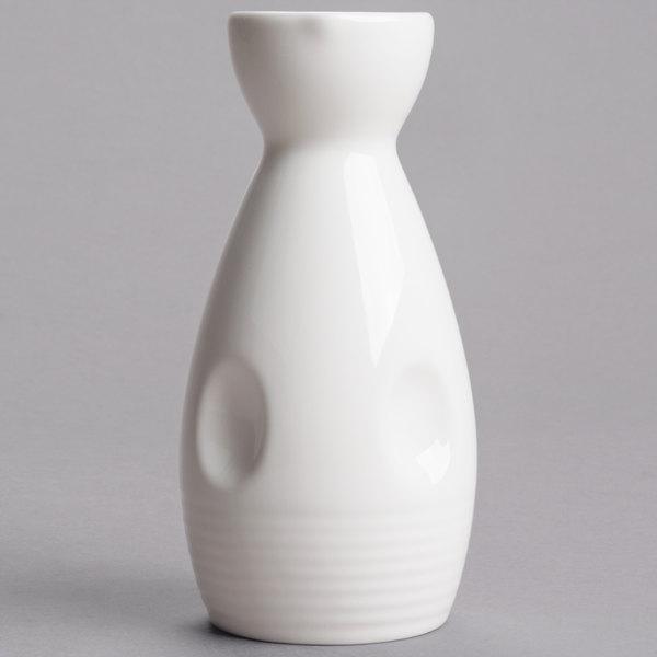 GET NC-4001-W 6 oz. Fuji Sake Bottle - 12/Pack