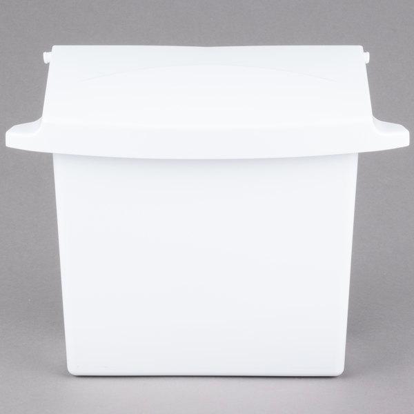 Rubbermaid 6140 Sanitary Napkin Receptacle (FG614000WHT)