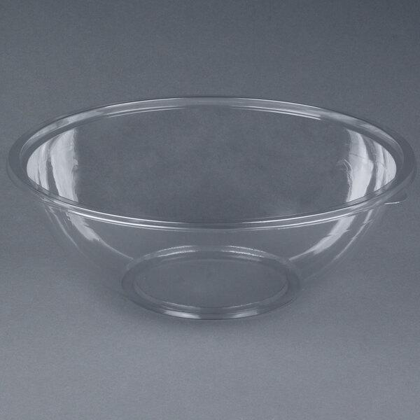 Sabert 12320 FreshPack 320 oz. Clear PETE Round Bowl - 25/Case