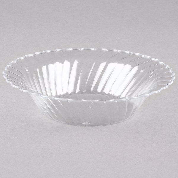 WNA Comet CWB10180C Classicware 10 oz. Clear Plastic Bowl - 180/Case