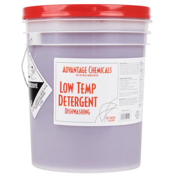 Advantage Chemicals 5 Gallon Low Temperature Dish Washing
