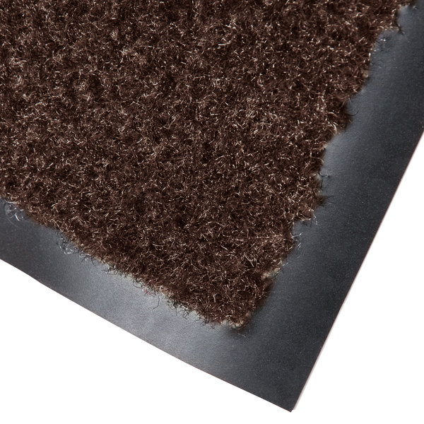 Cactus Mat 1437R-B3 Catalina Standard-Duty 3' x 60' Brown Olefin Carpet Entrance Floor Mat Roll - 5/16 inch Thick