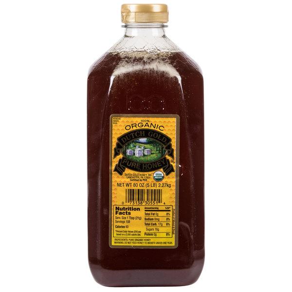Dutch Gold 5 lb. Organic Honey