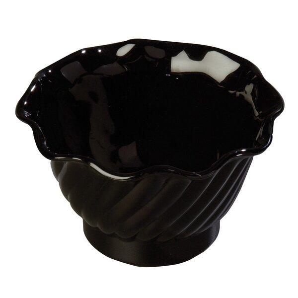 5 oz. Tulip Dessert Dishes - Black 12 / Pack