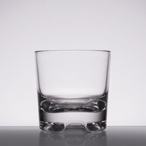 GET SW-1423 (SW1423) 9 oz. SAN Plastic Rocks Glass - 24/Case