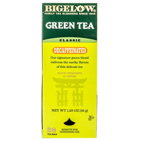 Bigelow Decaffeinated Green Tea - 28/Box