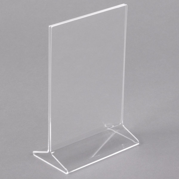 4 inch x 6 inch Acrylic Tabletop Displayette