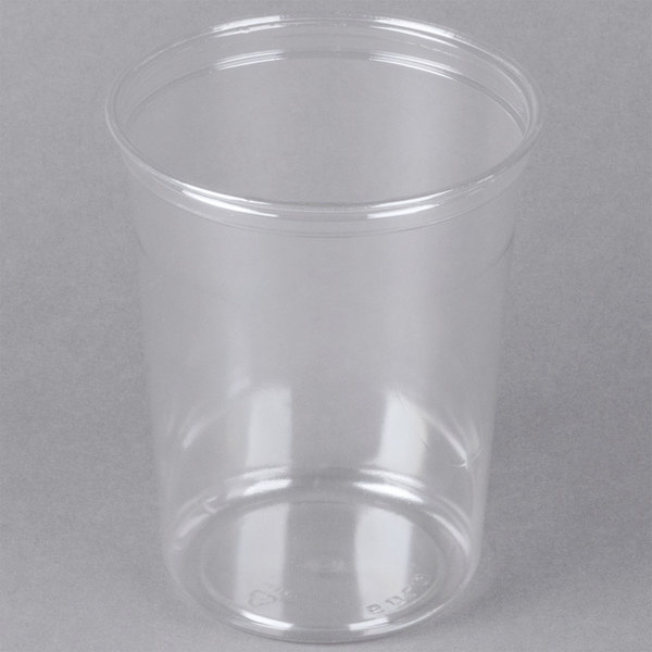 Dart Solo DM32R-0090 Bare 32 oz. Clear Deli Container Recycled - 500/Case