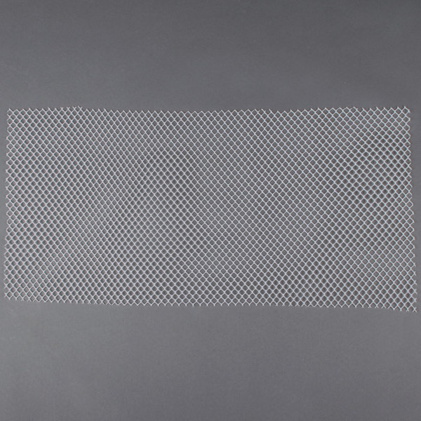 2' Clear Plastic Mesh Bar Mat / Shelf Liner