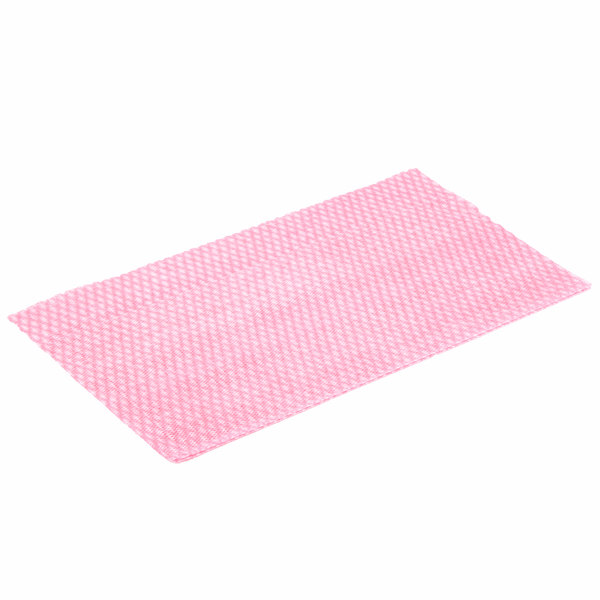 Chicopee 8507 Chix Competitive 11 1/2 inch x 24 inch Pink Foodservice Wet Wiper - 200/Case