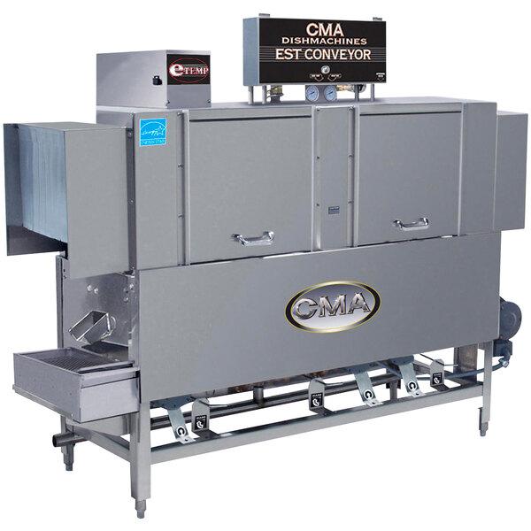 CMA Dishmachines EST-66 High Temperature Conveyor Dishwasher - Left to Right