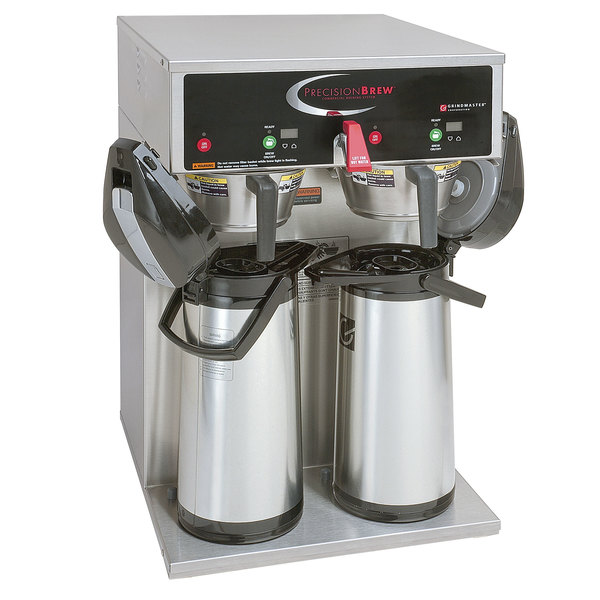 Grindmaster B-DAP 120/208 PrecisionBrew Digital 2.2 / 3.0 Liter Twin Airpot Automatic Coffee Brewer