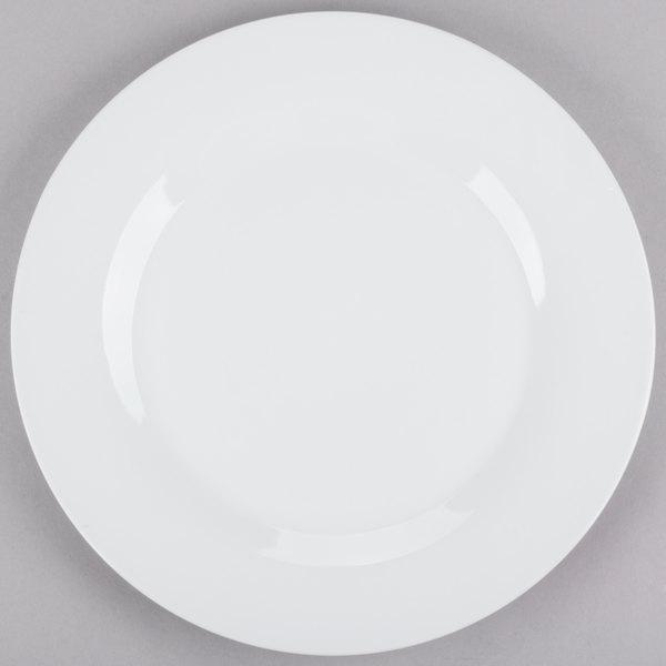 10 Strawberry Street CATERING-12(DINNER) 10 1/2 inch White Round Porcelain Dinner Plate - 12/Case