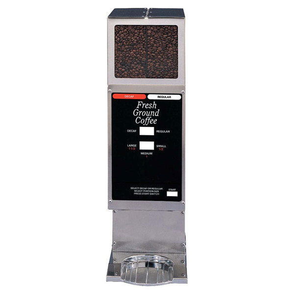 Grindmaster 250-3A Double Hopper 5.5 lb. Coffee Grinder - 120V