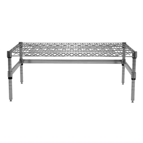 Advance Tabco WDRC-1836 36 inch x 18 inch x 14 inch Chrome Plated Wire Dunnage Rack - 800 lb. Capacity