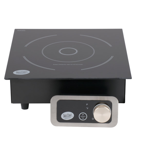 Tablecraft CW40196 Drop In / Countertop Induction Range - 120V, 1800W