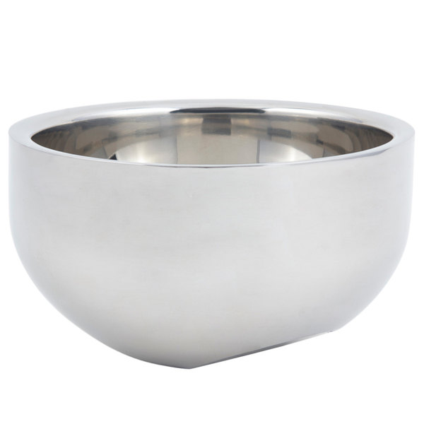 Bon Chef 61266 1 Qt. 12 oz. Angled Double Wall Bowl