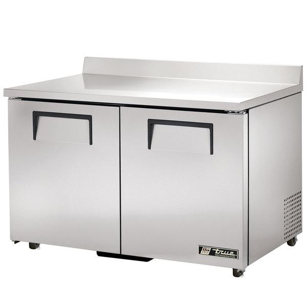 True TWT-48-ADA-HC Refrigerator Two Door Work Top Refrigerator ADA Compliant - 12 cu. ft.