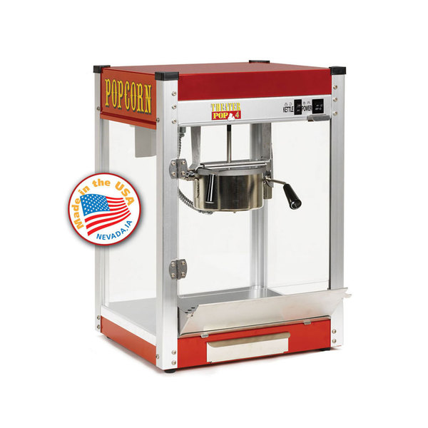 Paragon 1104210 Commercial Theater 4 oz. Popcorn Machine