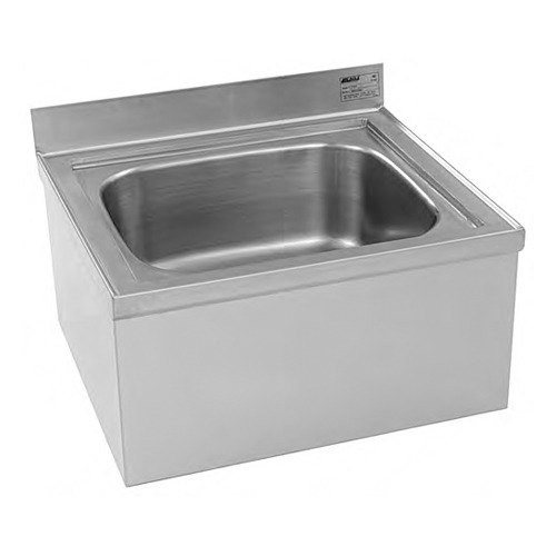 ... Stainless Steel One Compartment Floor Mop Sink - 20