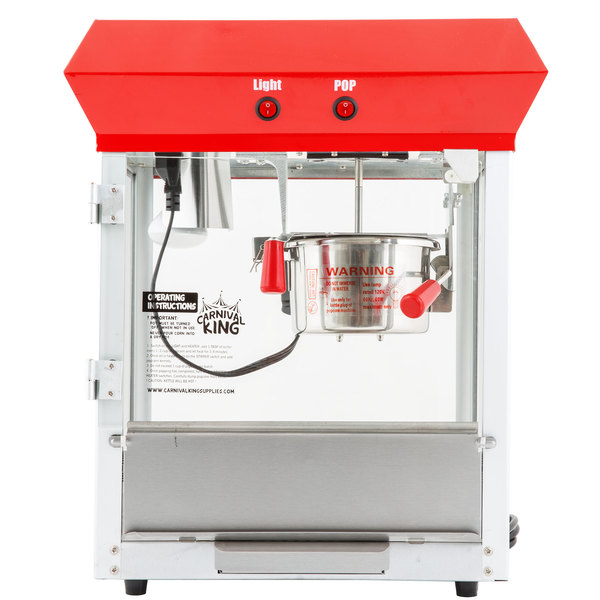 popcorn machine wattage