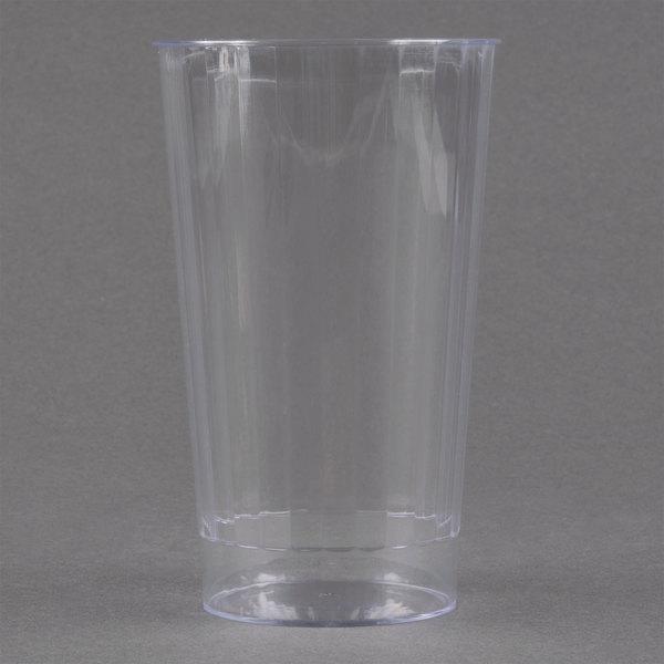 Fineline Renaissance 2416-CL 16 oz. Clear Hard Plastic Crystal Tumbler - 240/Case