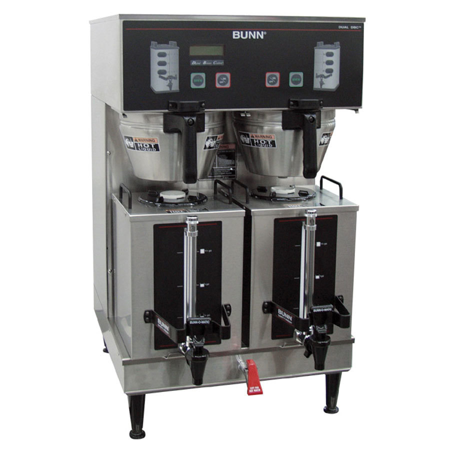 Bunn Coffee Maker Dual Dbc : Bunn 35900.0010 GPR DBC BrewWISE 18.9 Gallon Dual Coffee Brewer - 120/208-240V, 16800W